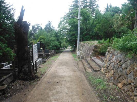 福島市営 御山墓地
