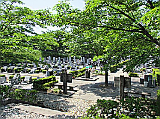 白河市営 羅漢山霊園
