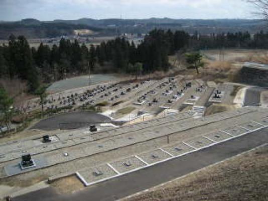 秋田市営 河辺墓地