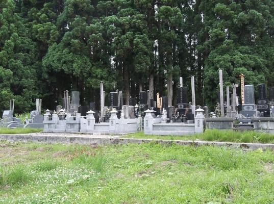大仙市営 南外湯ノ又墓園