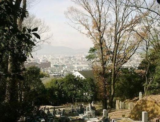 京都市営 住吉山墓地